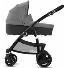 Коляска 2в1 CBX Leotie Pure RBA Comfy Grey grey