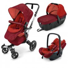 Коляска 3в1 Concord Neo Travel Set Flamingo Red