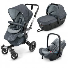 Коляска 3в1 Concord Neo Travel Set Steel Grey