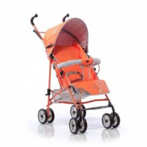 Коляска трость Geoby D208DR-F-ROXT Оранжевый с серым