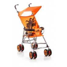 Коляска трость Geoby D222F-R4OT Оранжевый