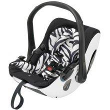 Автокресло Kiddy Evolution Pro Zebra + база Latch