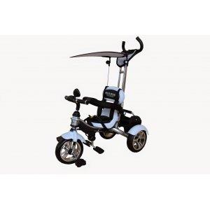 Велосипед 3-х колесный Mars Trike KR01 Air надувные Белый