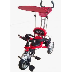 Велосипед 3-х колесный Mars Trike KR01 Air надувные Красный