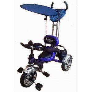 Велосипед 3-х колесный Mars Trike KR01 Air надувные Синий