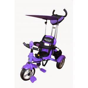 Велосипед 3-х колесный Mars Trike KR01 Air надувные Фиолетовый
