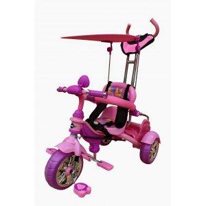 Велосипед 3-х колесный Mars Trike KR01 анимэ Розовый