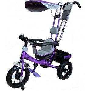 Велосипед 3-х колесный Mini Trike LT950 Air надувные Фиолетовый