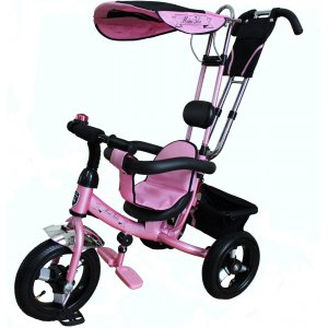 Велосипед 3-х колесный Mini Trike LT950 Air надувные Розовый