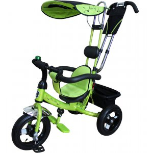 Велосипед 3-х колесный Mini Trike LT950 Air надувные Зеленый