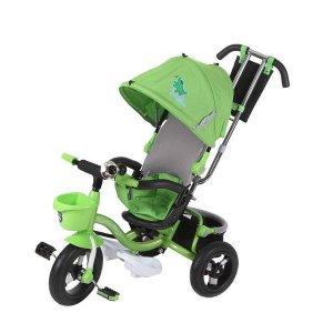Велосипед 3-х колесный Mini Trike LT960 надувные с капюшоном Зеленый