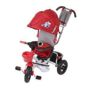 Велосипед 3-х колесный Mini Trike LT960 надувные с капюшоном Красный