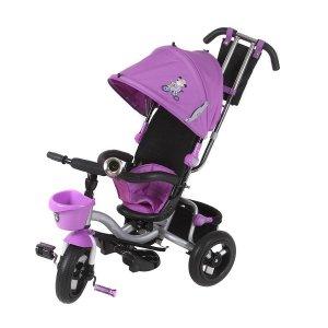 Велосипед 3-х колесный Mini Trike LT960 надувные с капюшоном Фиолетовый