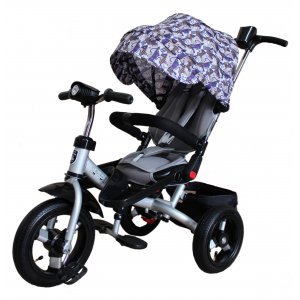 Велосипед 3-х колесный Mini Trike T400 Серебристый
