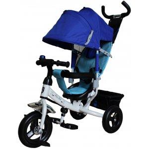 Велосипед 3-х колесный Mini Trike 950D Бело-Синий