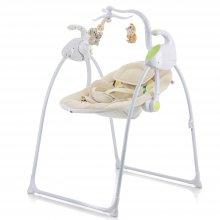 Укачивающий центр Mioobaby Baby Swing beige