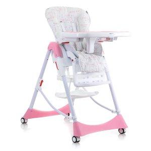 Детский стульчик для кормления Mioobaby High Chair Mosaic M100 pink
