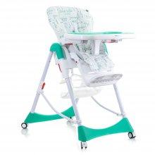 Детский стульчик для кормления Mioobaby High Chair Mosaic M100 green