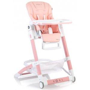 Детский стульчик для кормления Mioobaby Soul peach