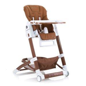 Детский стульчик для кормления Mioobaby Soul brown
