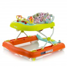 Ходунки 3в1 Mioobaby XA20 green/orange