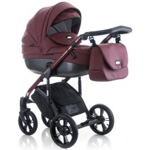Коляска 2в1 Mioobaby Zoom Black Edition Burgundy