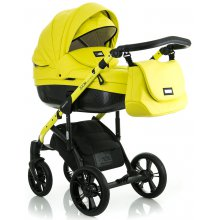 Коляска 2в1 Mioobaby Zoom Black Edition Lime