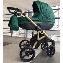 Коляска 2в1 Mioobaby Zoom Royal Edition Emerald/Gold