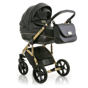 Коляска 2в1 Mioobaby Zoom Royal Edition Black/Gold
