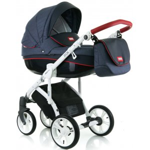 Коляска 2в1 Mioobaby Zoom Urban Navy/Red