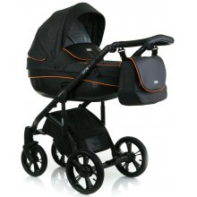 Коляска 2в1 Mioobaby Zoom Urban   Black/Orange