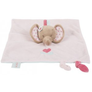 Мягкая игрушка-кукла Nattou слоник Рози