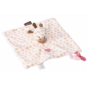 Мягкая игрушка-кукла Nattou жираф Шарлота