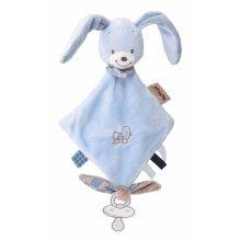 Мягкая игрушка квадратная Nattou кролик Бибу