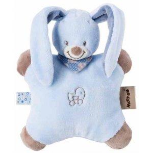Мягкая игрушка-подушка Nattou кролик Бибу