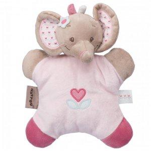 Мягкая игрушка-подушка Nattou слоник Рози