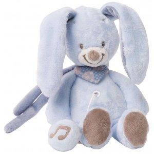 Мягкая игрушка с музыкой Nattou кролик Бибу, 21см
