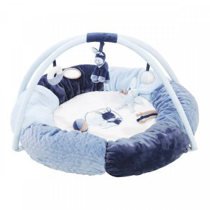 Развивающий коврик с дугами и подушками Nattou Алекс и Бибу