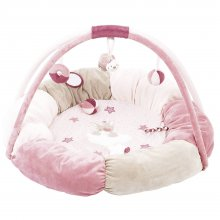 Развивающий коврик с дугами и подушками Nattou Нина, Жаде и Лили