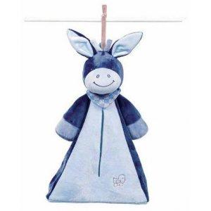 Мягкая игрушка Nattou Сумка для подгузников ослик Алекс