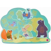 Настенная игрушка Oribel Veritiplay Веселий кролик и его друзья