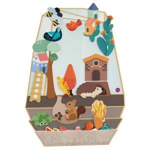 Настенная игрушка Oribel Veritiplay Волшебный сад
