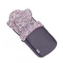 Спальный мешок Teutonia Mini Nest фиолетовый с узором