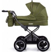 Классическая коляска 2в1 Tilly Family Green