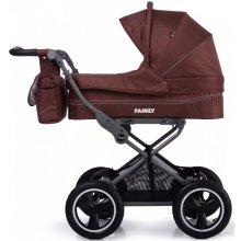 Классическая коляска 2в1 Tilly Family Brown