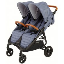 Прогулочная коляска для двойни Valco Baby Snap Duo Trend / Denim