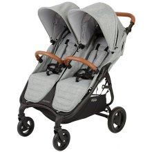 Прогулочная коляска для двойни Valco Baby Snap Duo Trend / Grey Marle