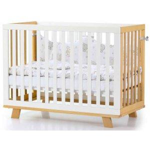 Детская кроватка Верес Соня ЛД-1 Манхэттэн, Бело-буковый