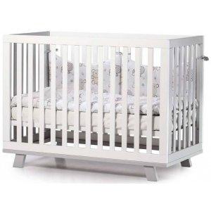 Детская кроватка Верес Соня ЛД-1 Манхэттэн, Бело-серый