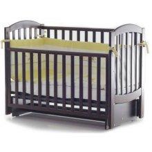 Детская кроватка Верес Соня ЛД10 маятник, Орех
